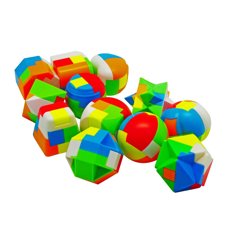 Play N Learn IQ Luban Lock Interlock Puzzle