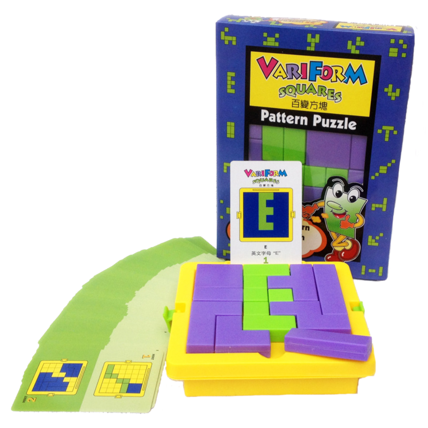 Play N Learn Mathematics Variform Square Board Game