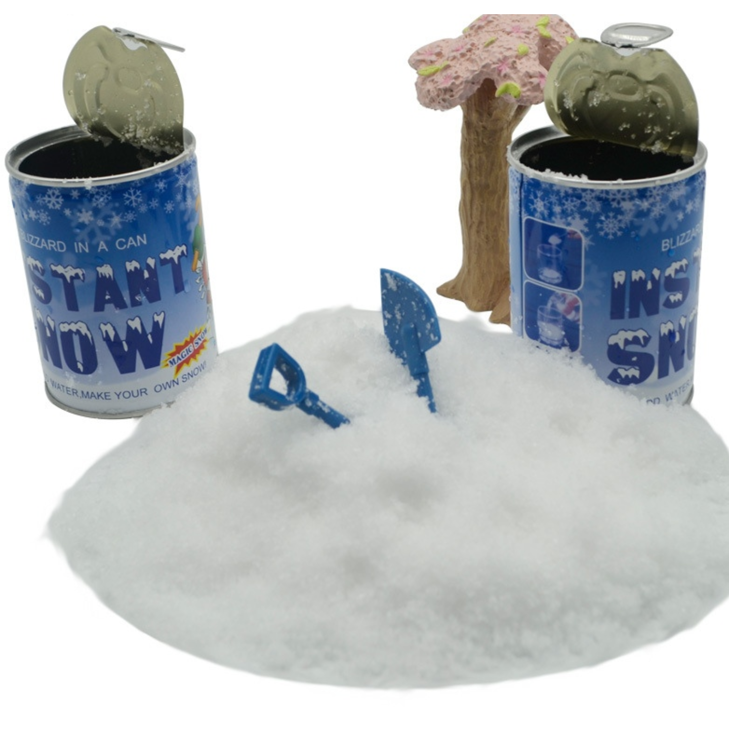 Party Novelty Fake Snow Making Science Experiment in a Can