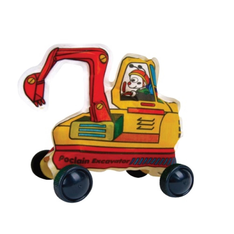 Play N Learn Colorloon / 3D Vehicle DIY Kit - Poclain Excavator ( 10 PCS )
