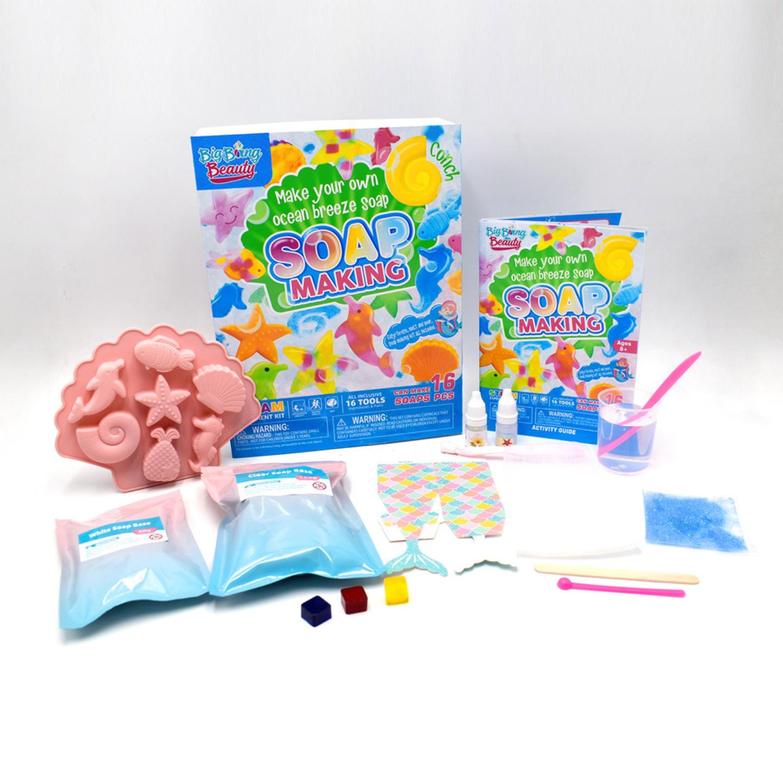 STEM Big Bang Fun Learning Science Soap Making Kit for Kids