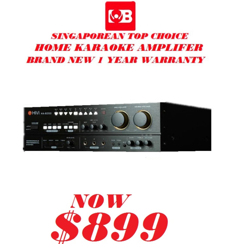 Hivi Professional Karaoke Amplifer HA-8200