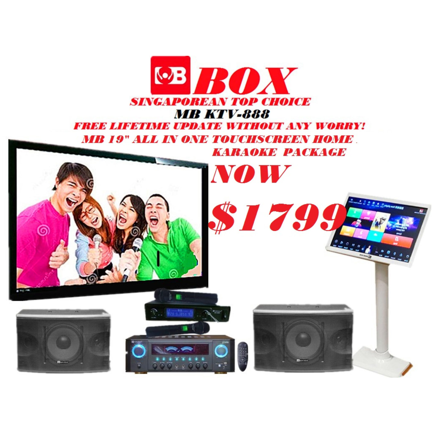 Full karaoke system Now offer at 1799