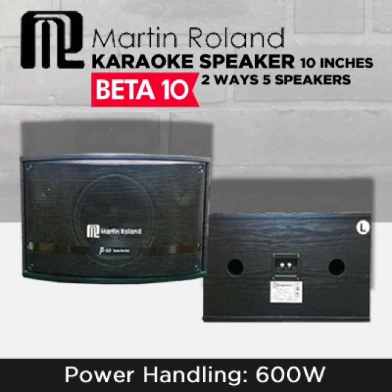 Martin Roland Professional Karaoke Speaker Beta 10