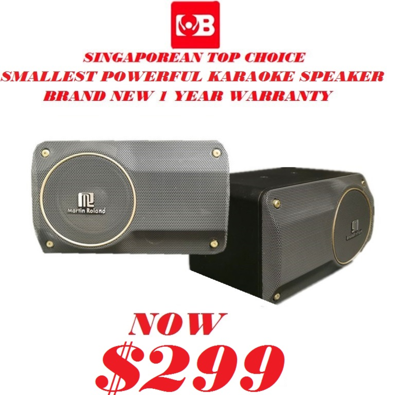 Martin Roland Home Karaoke Speaker Beta 6