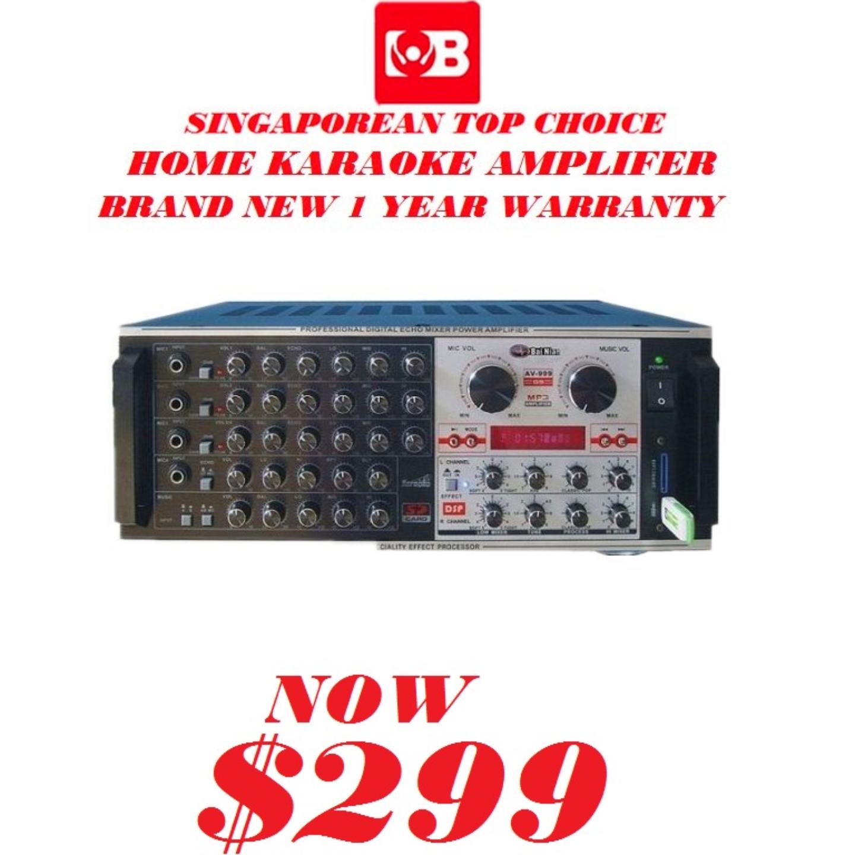 Martin Roland Karaoke Amplifer AV-999-G9