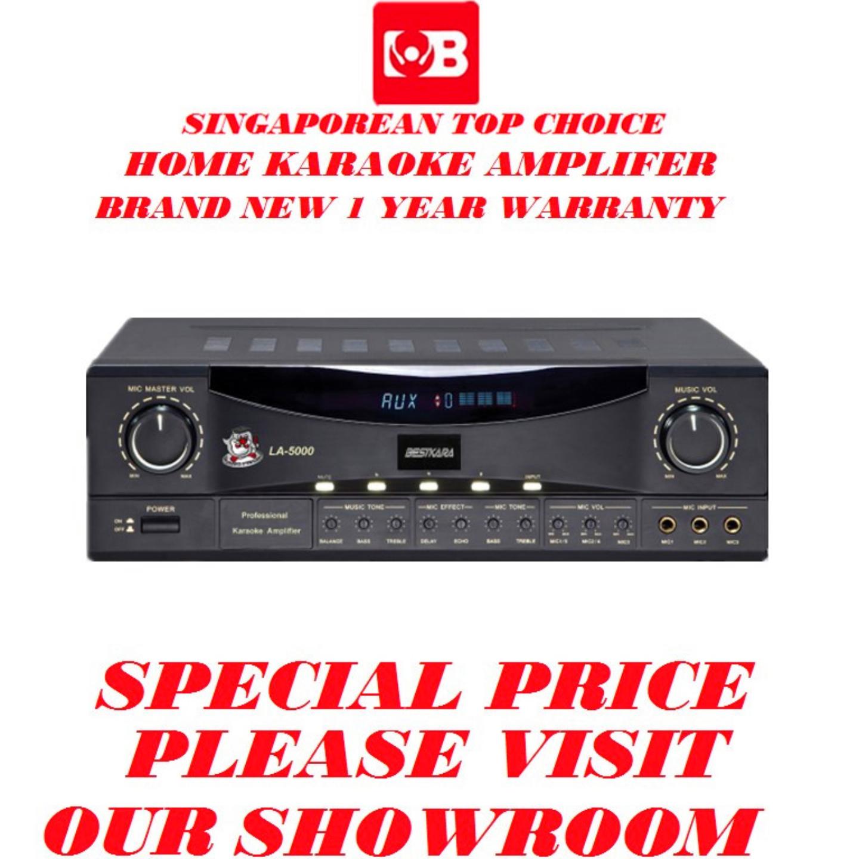 BESTKARA Karaoke Digital Amplifer LA-5000