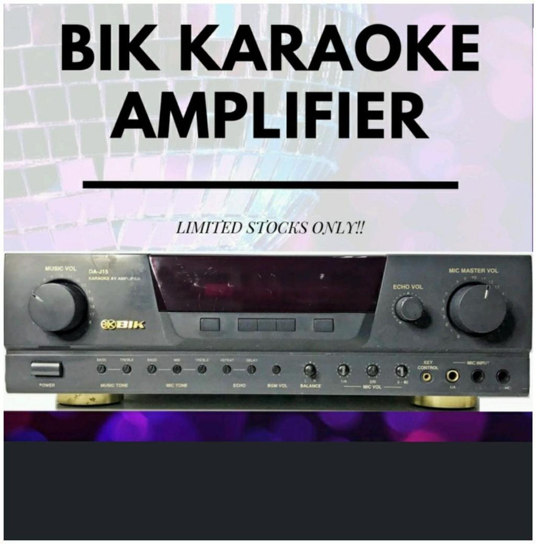 BIK Karaoke Amplifer BA-55