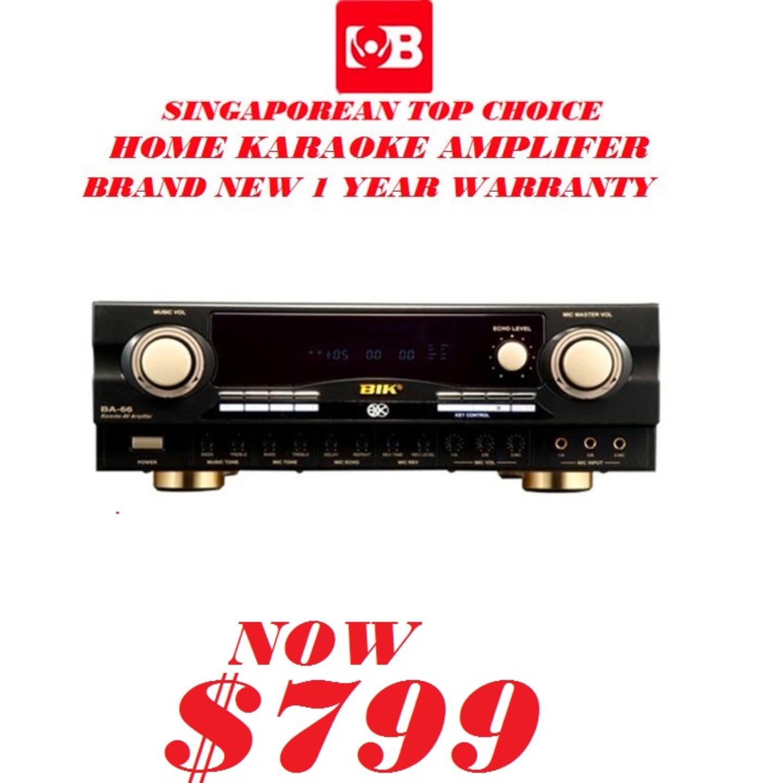 BIK 2CH Karaoke Amplifer BA-66