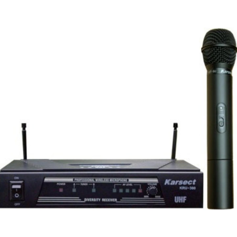 KARSECT UHF Wireless Microphone KRU-300