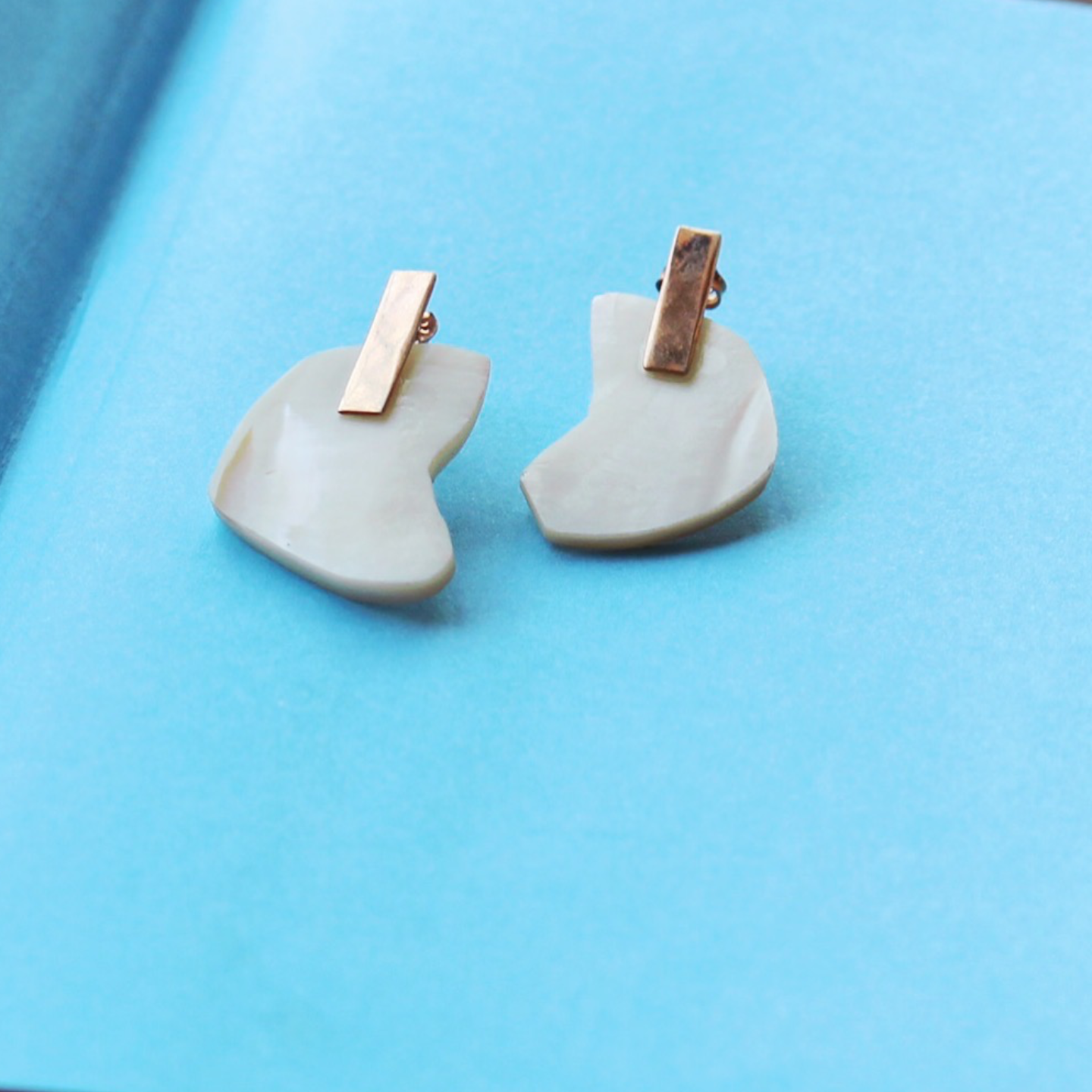 Classic Mother Of Pearl Studs