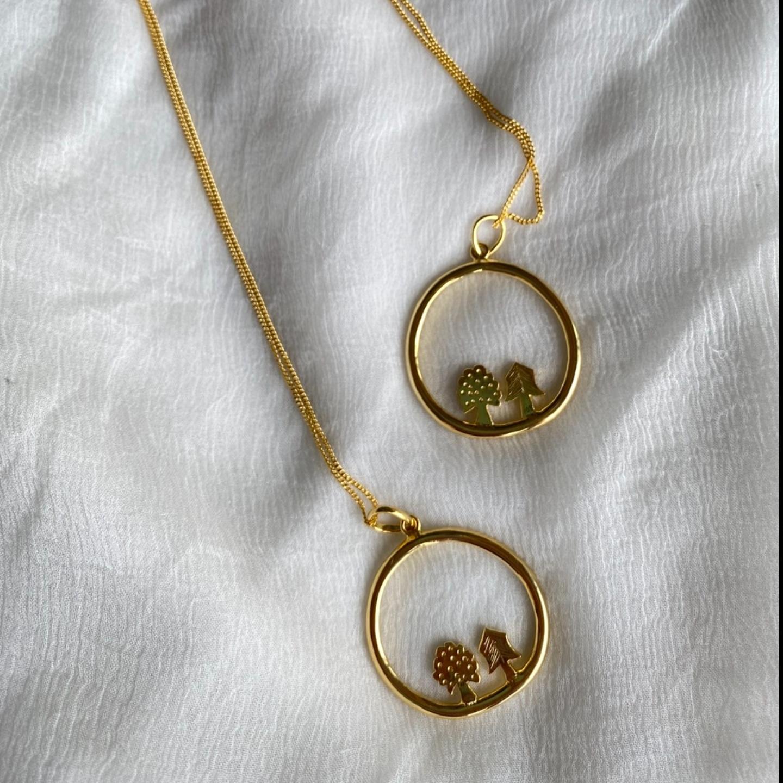 Teeny trees Necklace
