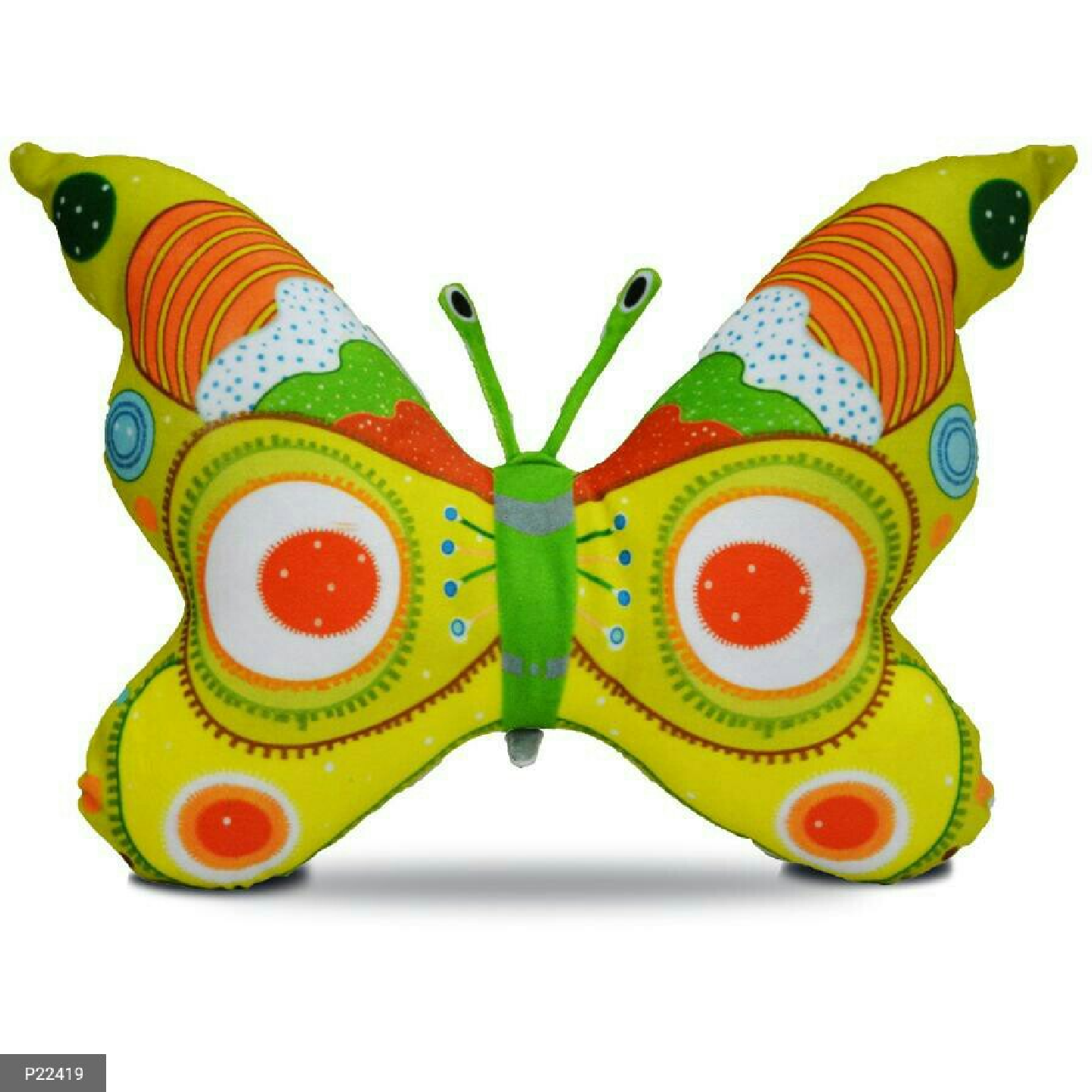 High Quality fiber-filled Butterfly shaped cushions for Kids and Home Decor !
