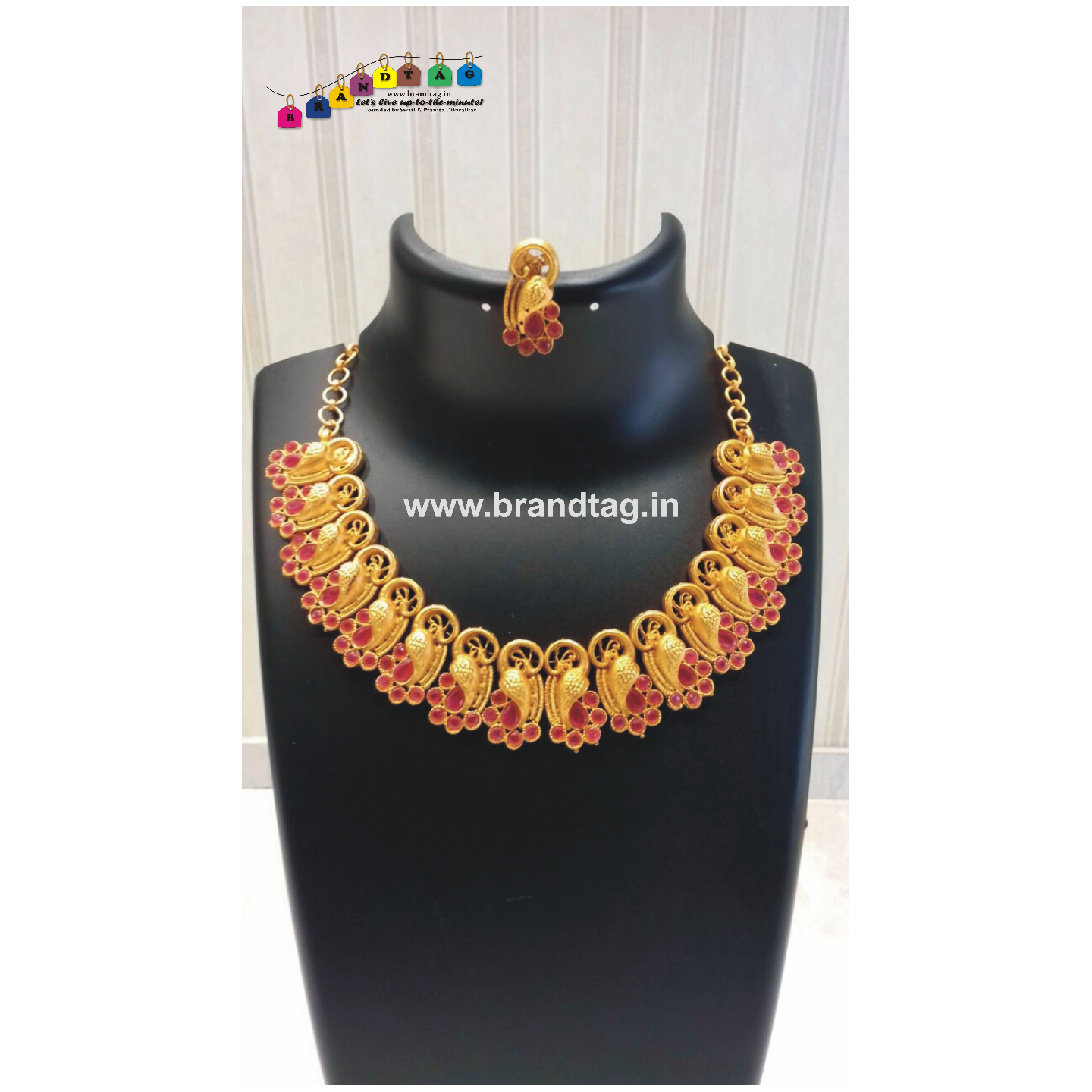Diwali Collection - Striking Golden Necklace!