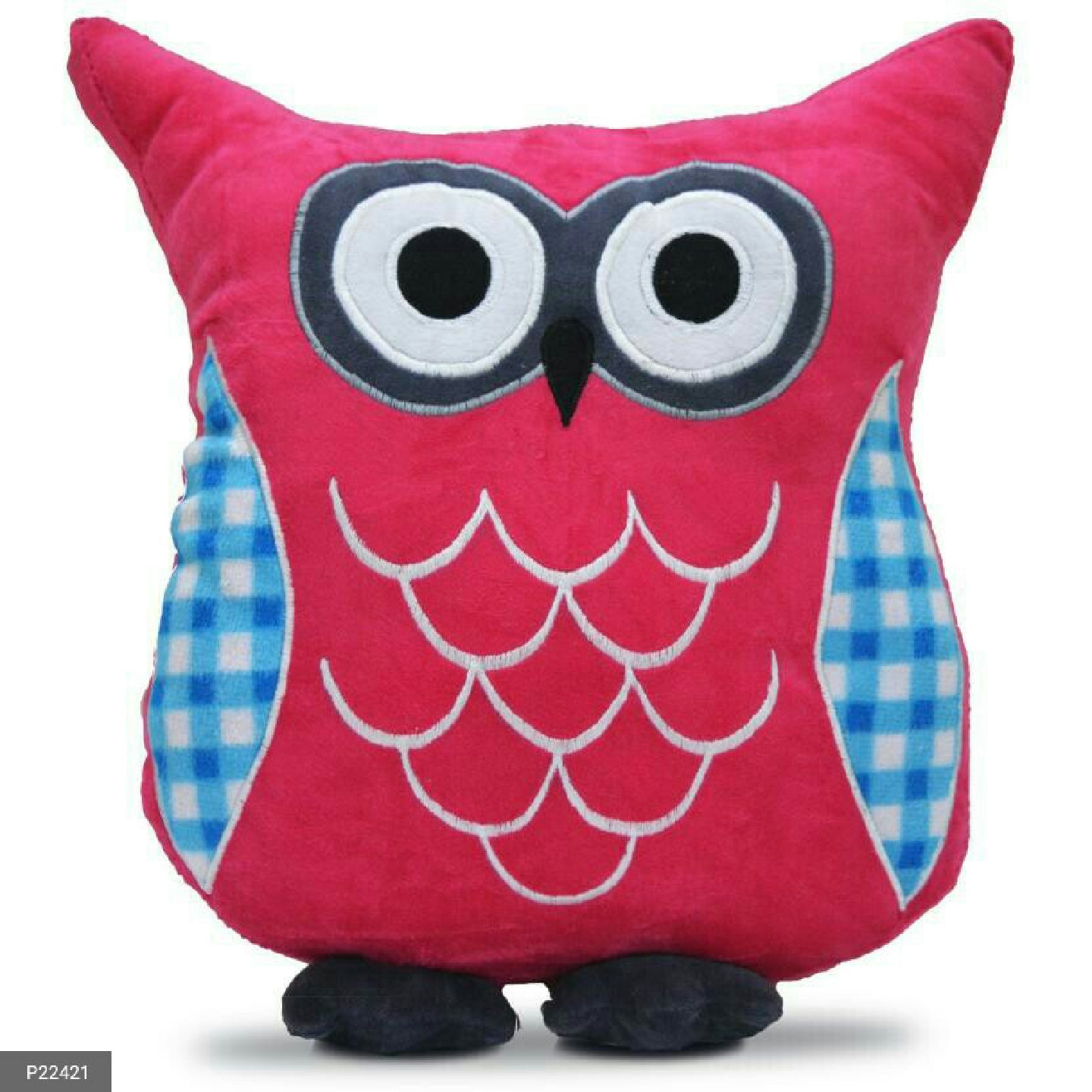 High Quality fiber-filled Owl shaped cushions for Kids and Home Decor !