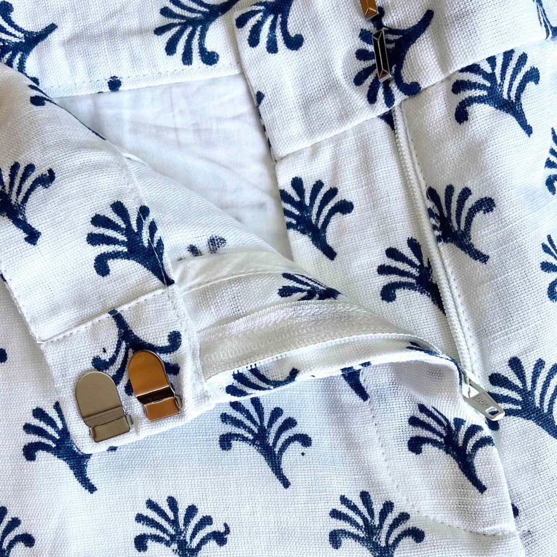 Blue Petal Shorts