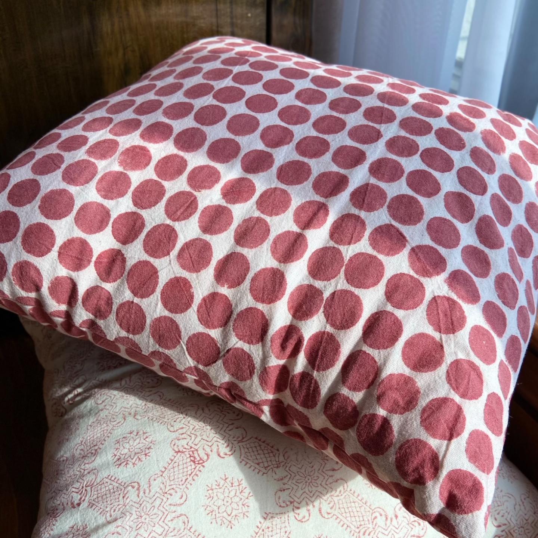Kalamkari Cushions - Dots