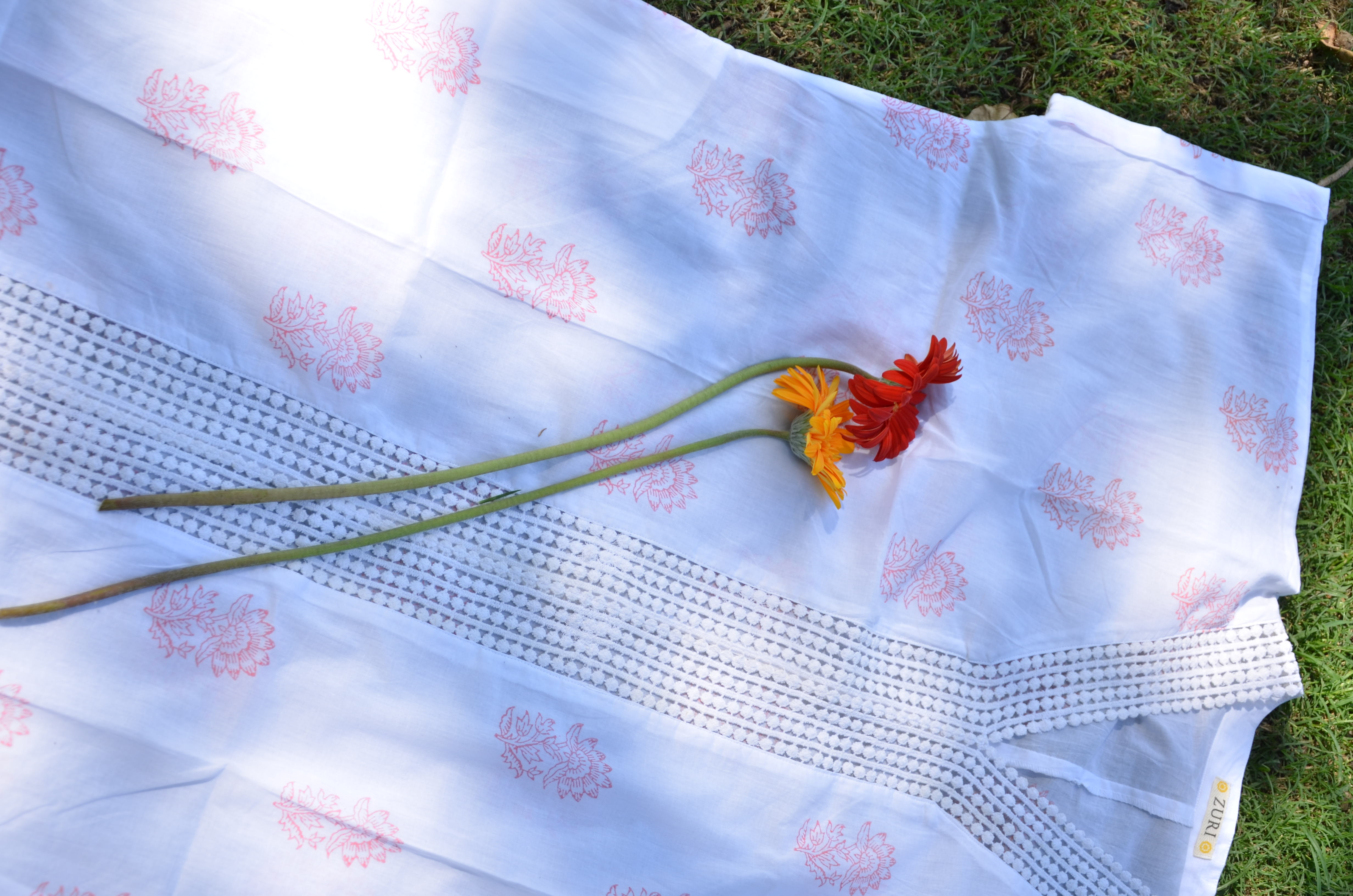Flower Lace Kaftan