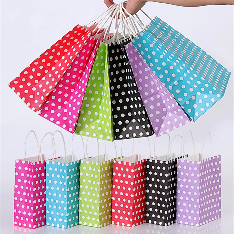 Polka Dots Paperbag