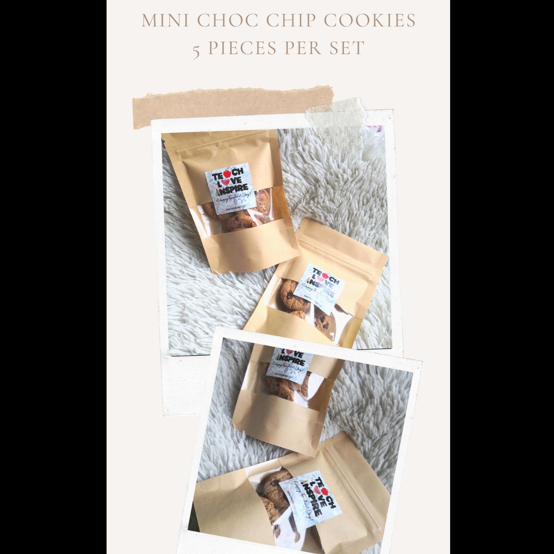 Mini Choc Chip cookies