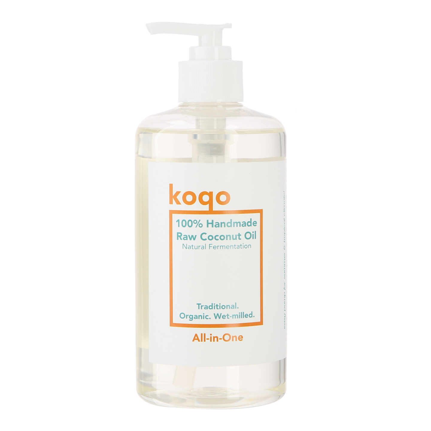 koqo All-In-One 100 Pure Handmade Virgin Coconut Oil 500ml - Best Value