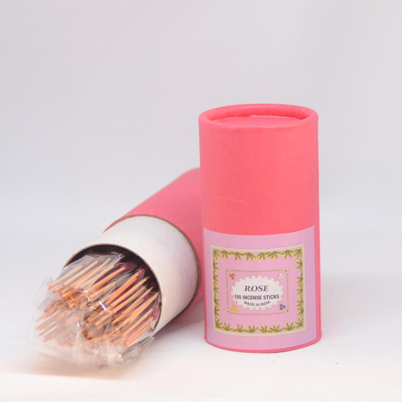Premium Hand Rolled Incense - Rose
