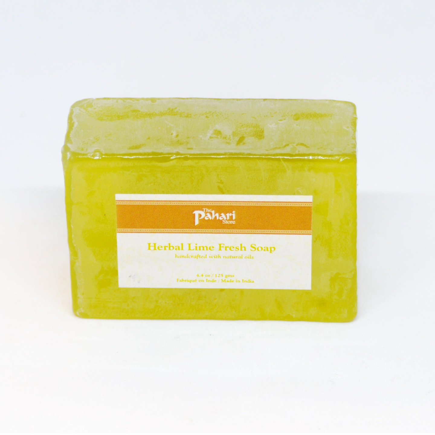 Lime Fresh Herbal Soap