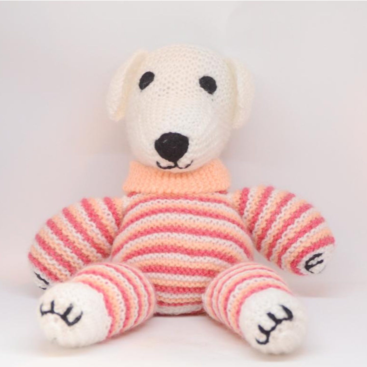 Hand knitted Bear Big