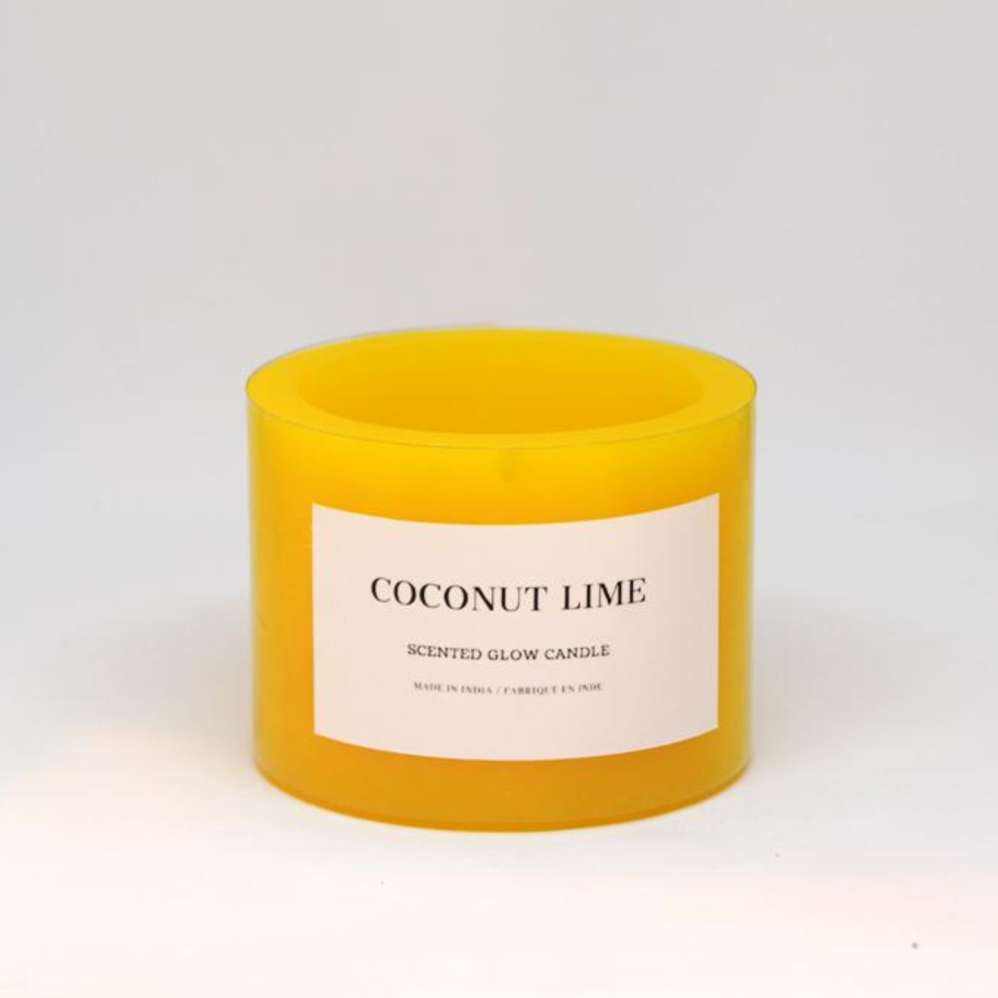 Scented Glow Candle - Coconut Lime