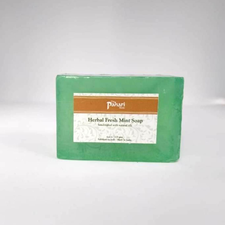 Fresh Mint Herbal  Soap 125 g