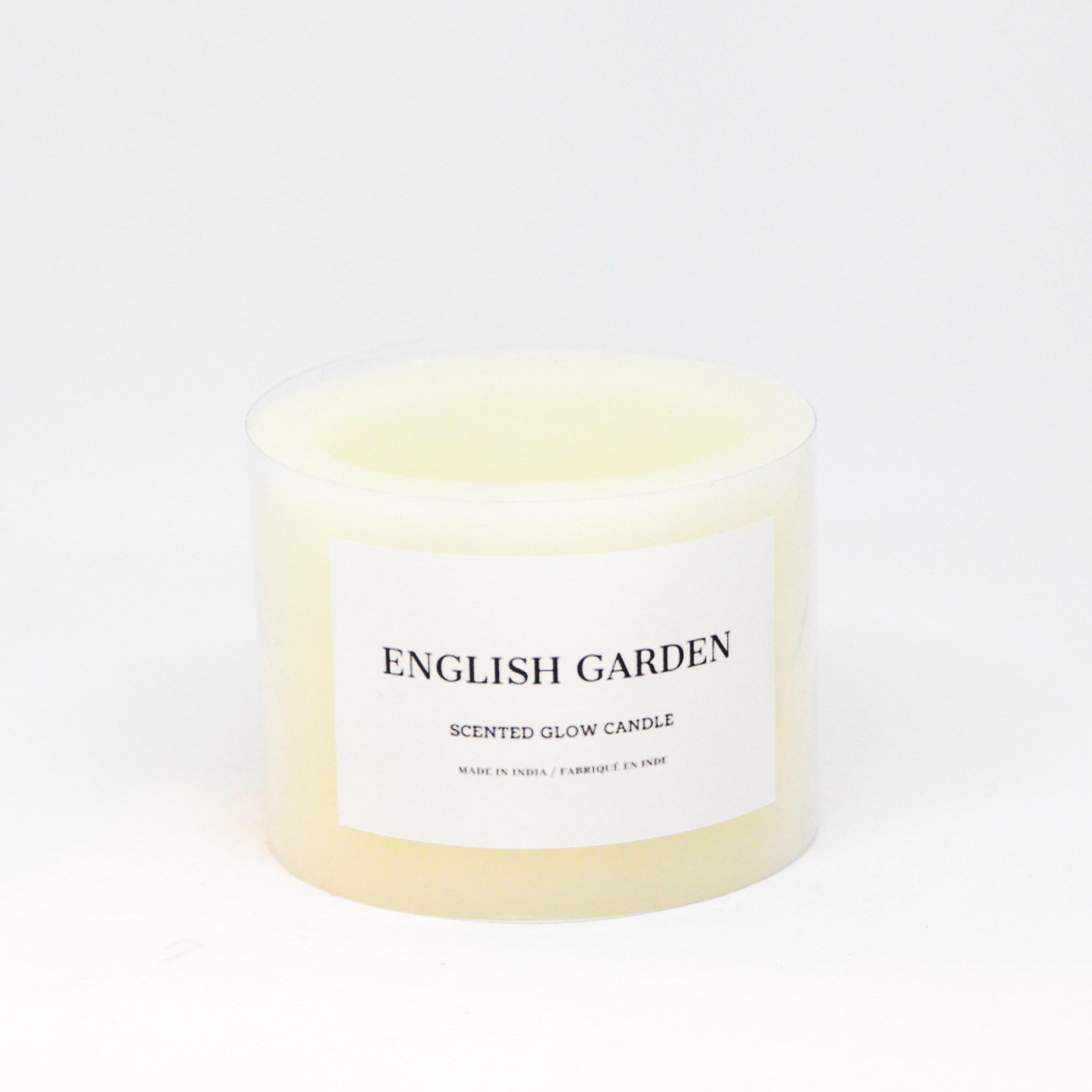 Scented Glow Candle - English Garden