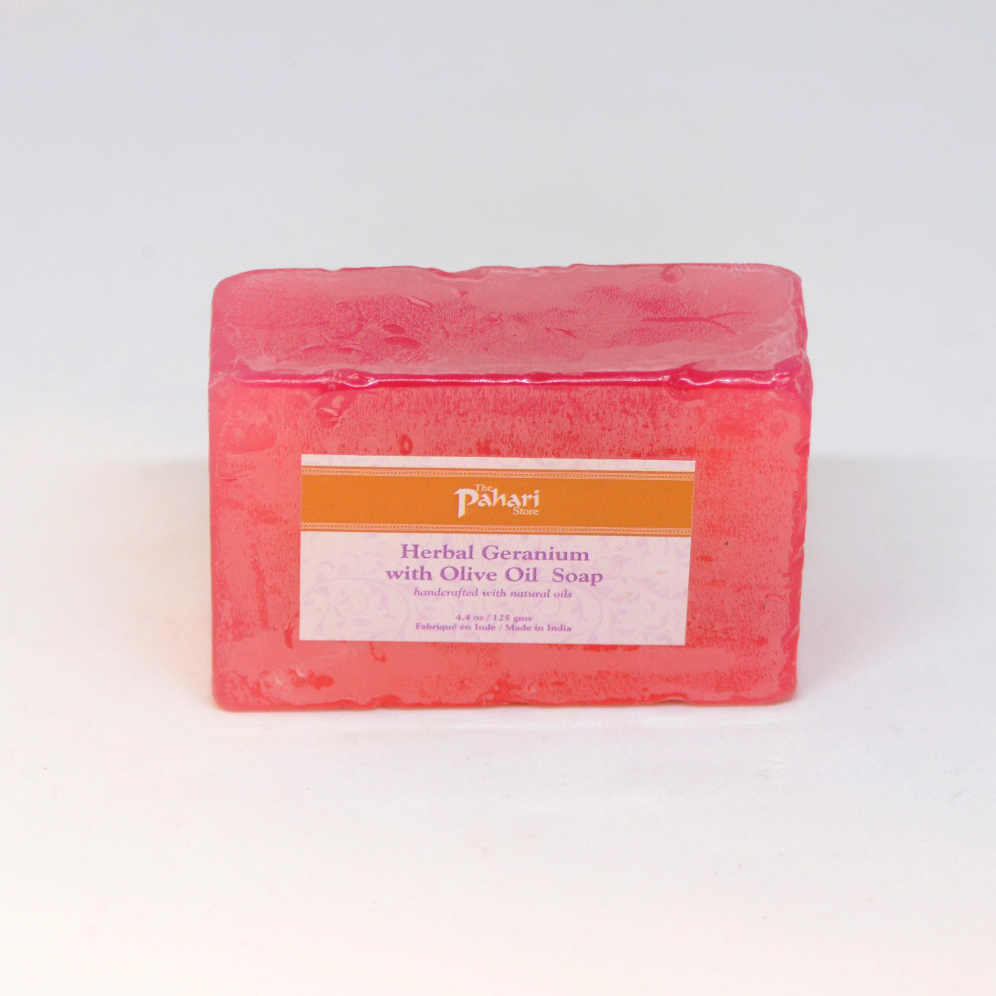 Herbal Geranium with Olive Oil Soap 125g