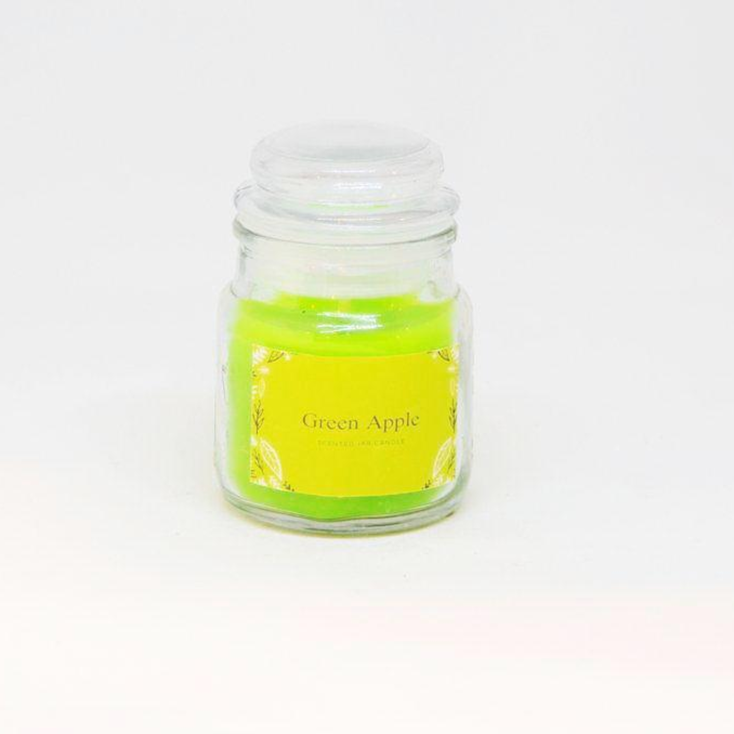 Scented Jar Candle - Green Apple