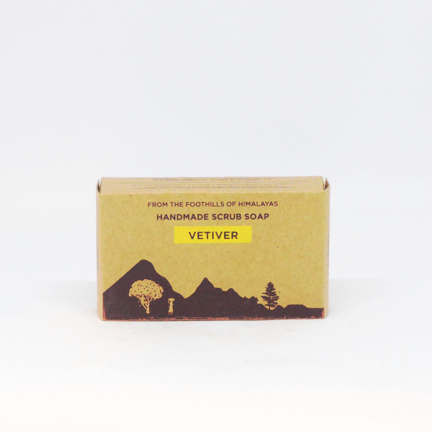 Vetiver Scrub Soap