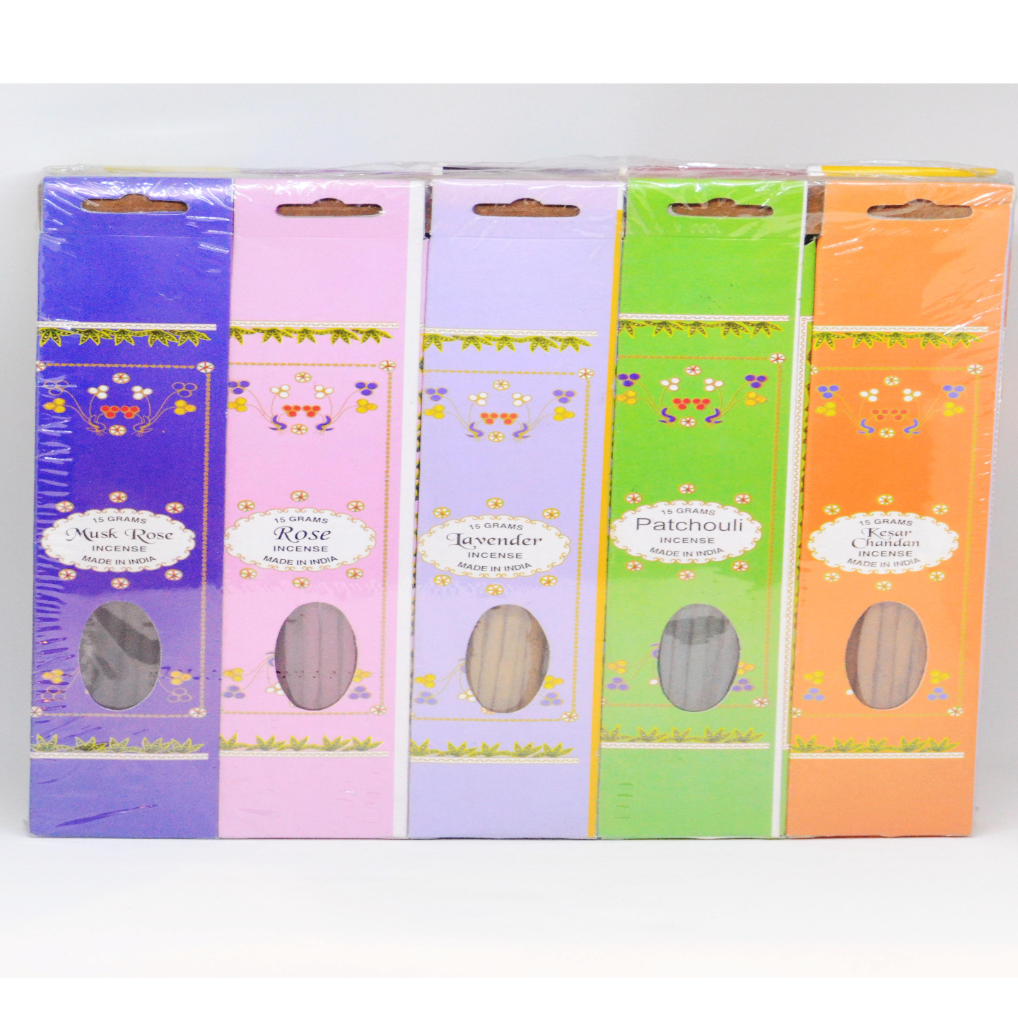Rainbow Hand rolled Incense Pack of 10