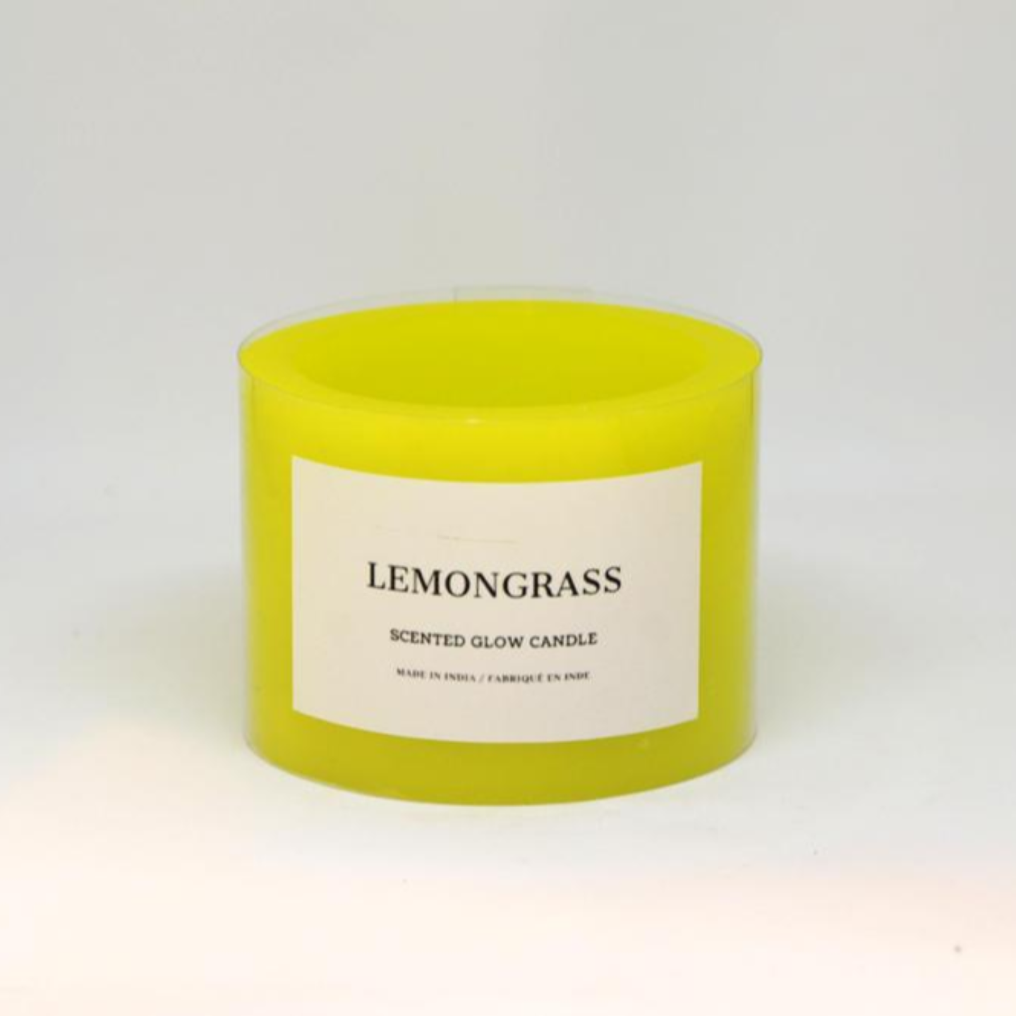 Scented Glow Candle - Lemon Grass