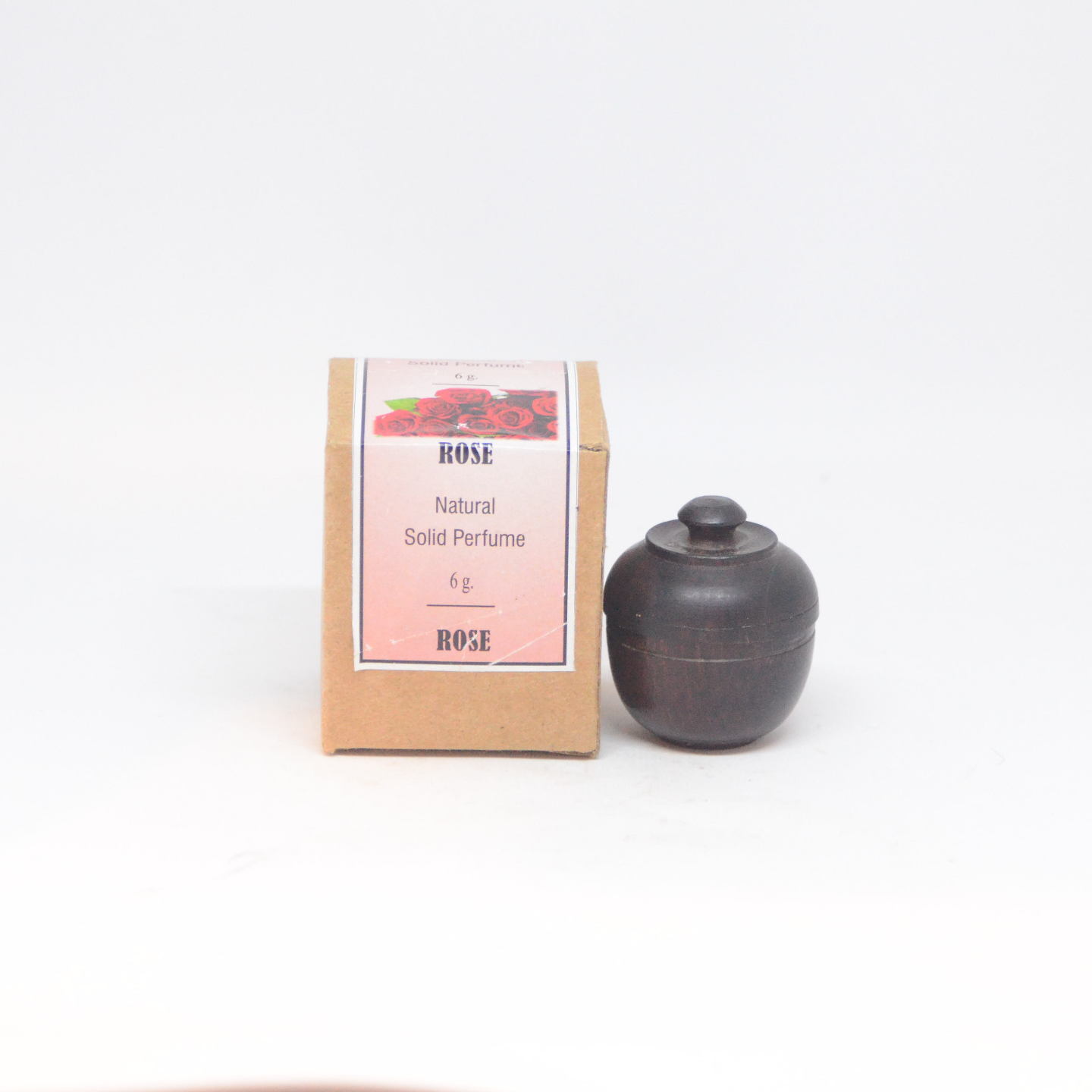 Beeswax Solid Perfume - Rose