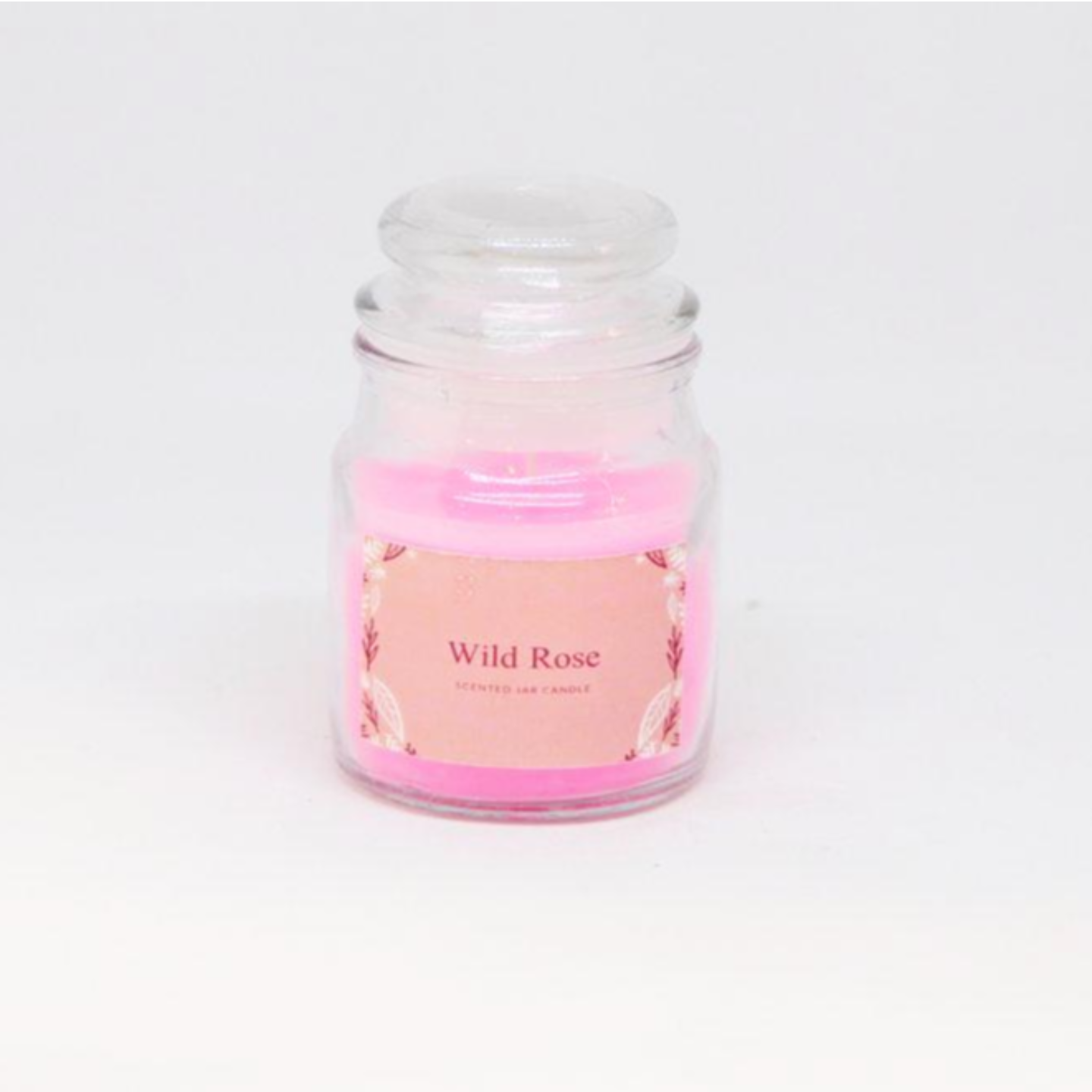 Scented Jar Candle - Wild Rose