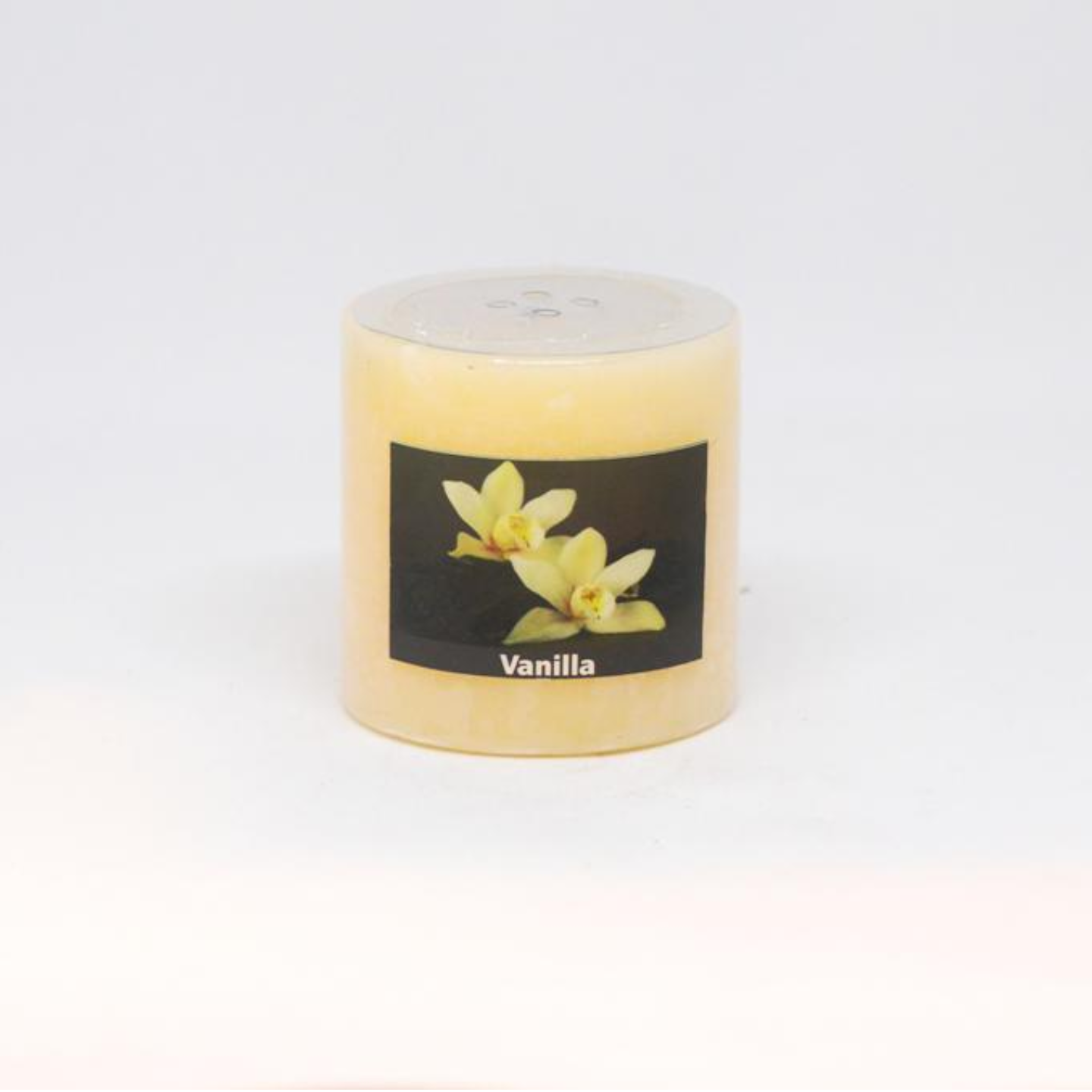 Scented Pillar Candle - Vanilla