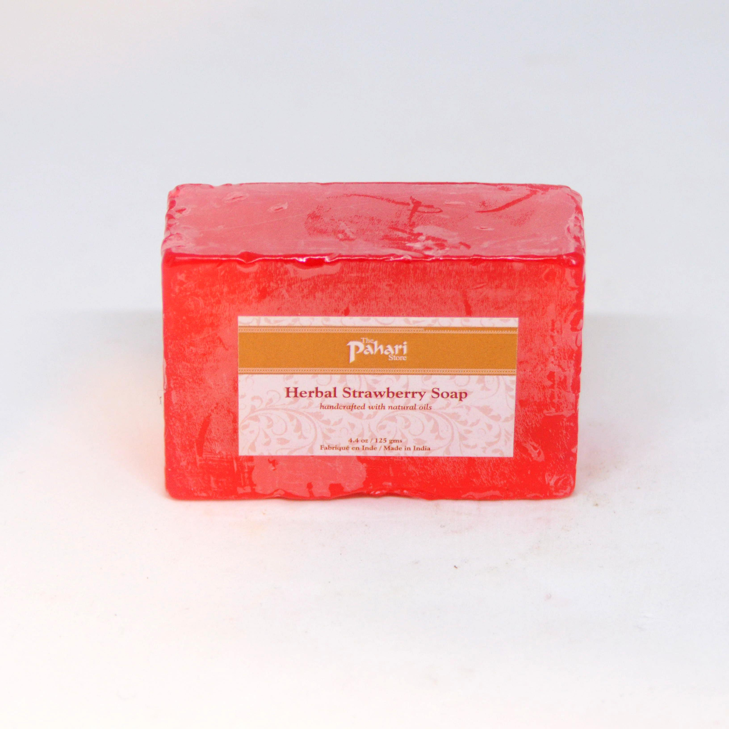 Strawberry Herbal Soap 125g