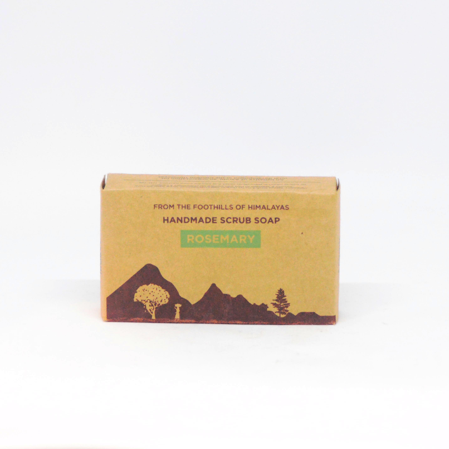 Aarohi Rosemary Scrub Soap