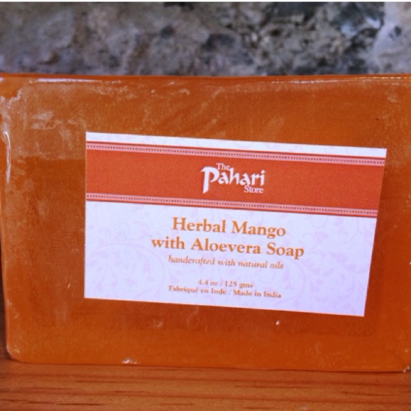 TPS Herbal Mango Aloevera Soap 125g