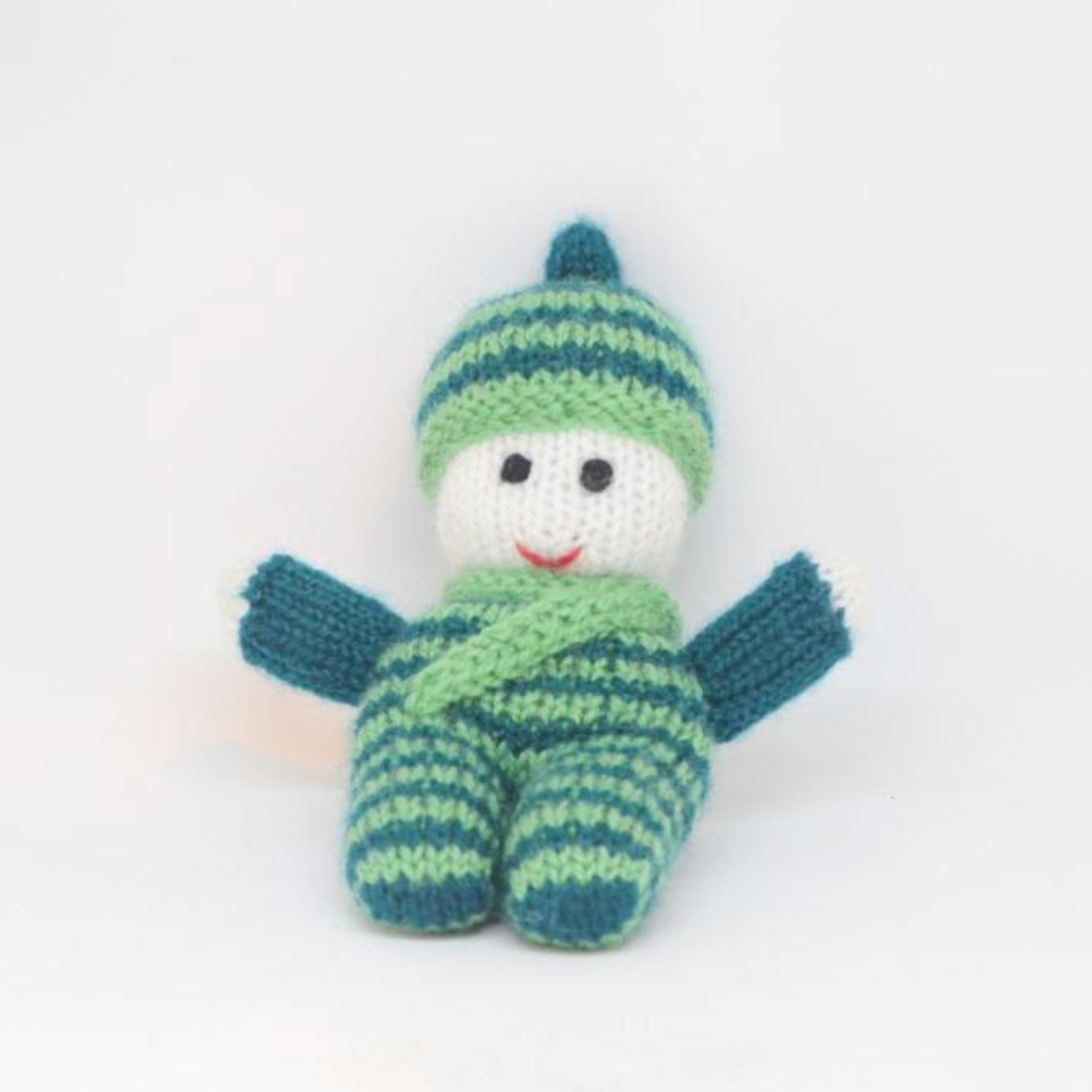 Hand knitted Pappu Doll
