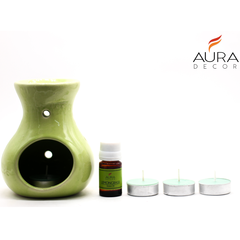 AuraDecor Gift Set Aroma Diffuser Lemon Grass