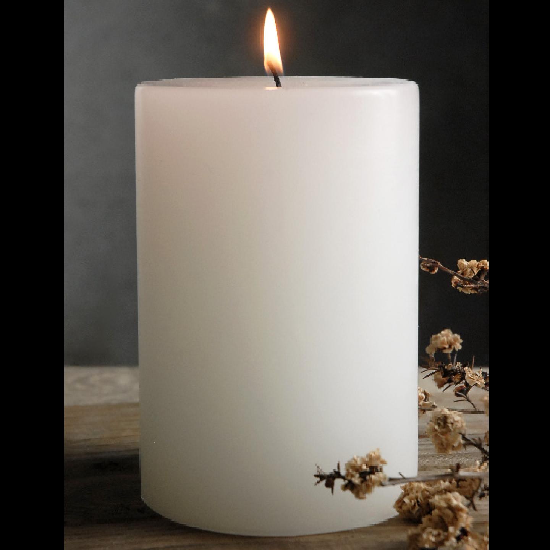 AuraDecor Pillar Candle (3*4 Inch )