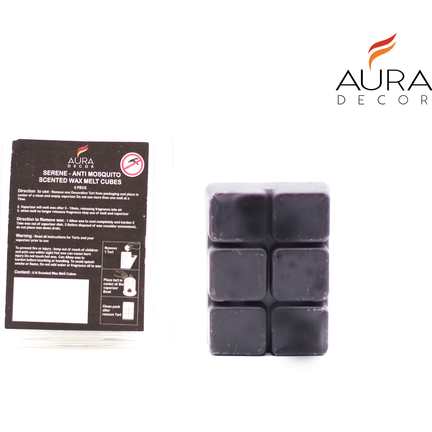 AuraDecor Aroma Wax Melts (anti mosquito)