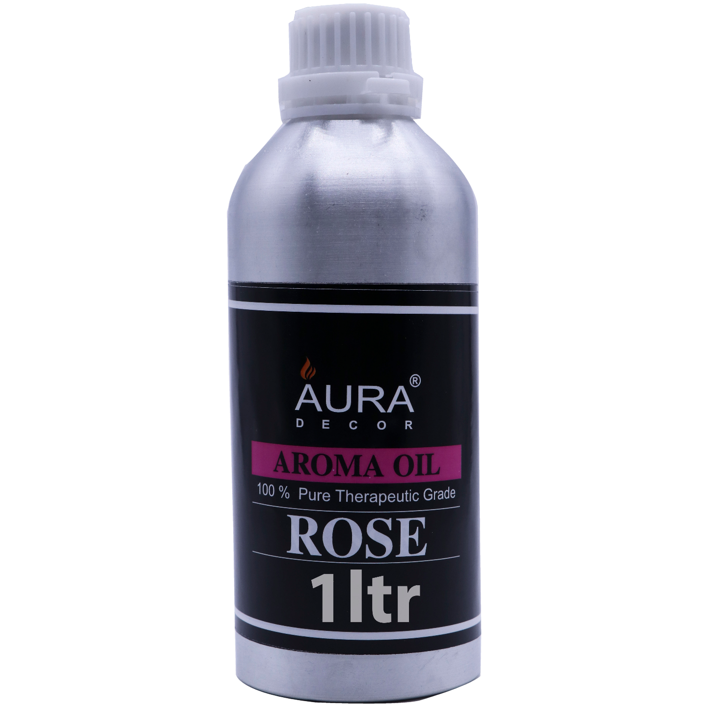 AuraDecor Undiluted Aromatherapy Oil ( Rose 1 Ltr )