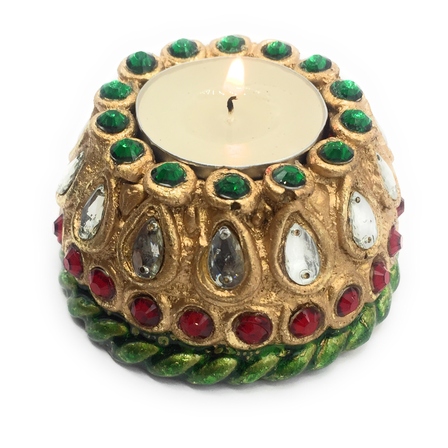 AuraDecor Matka Tealight Holder