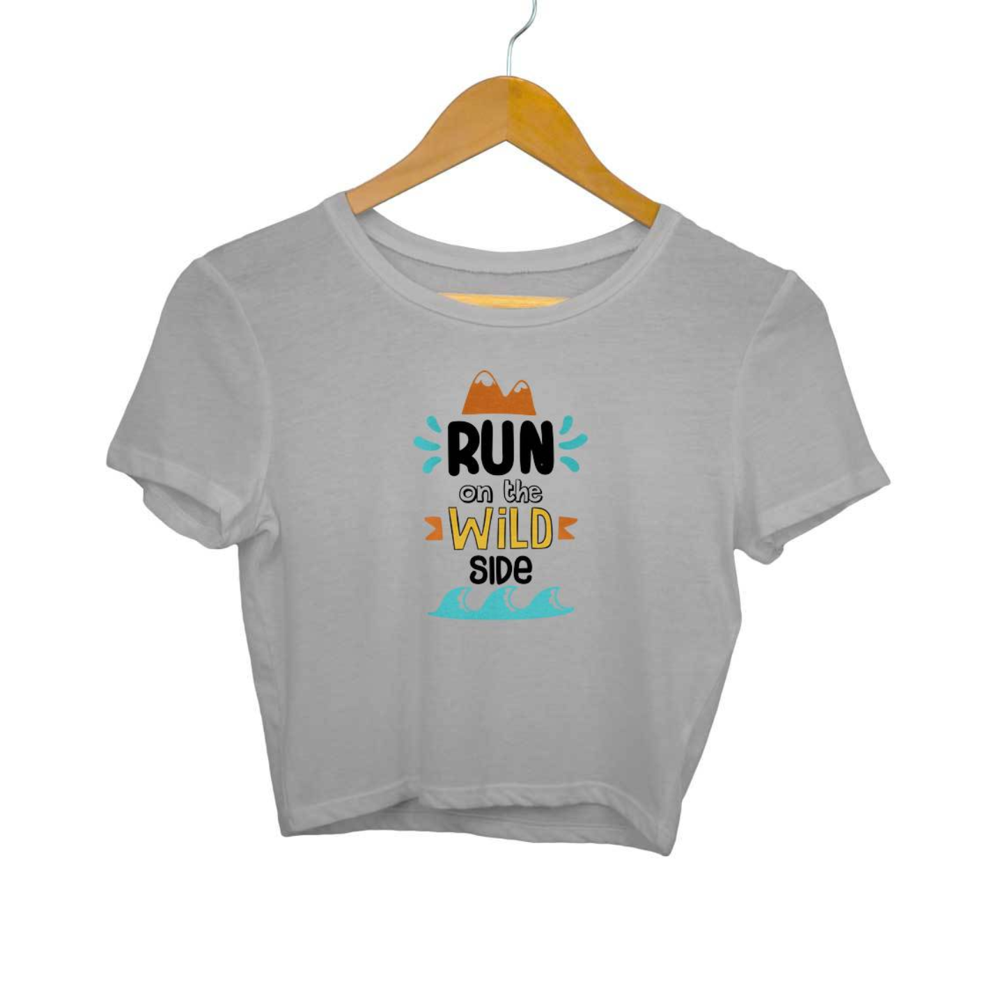 Run On The Wild SIde Crop Top