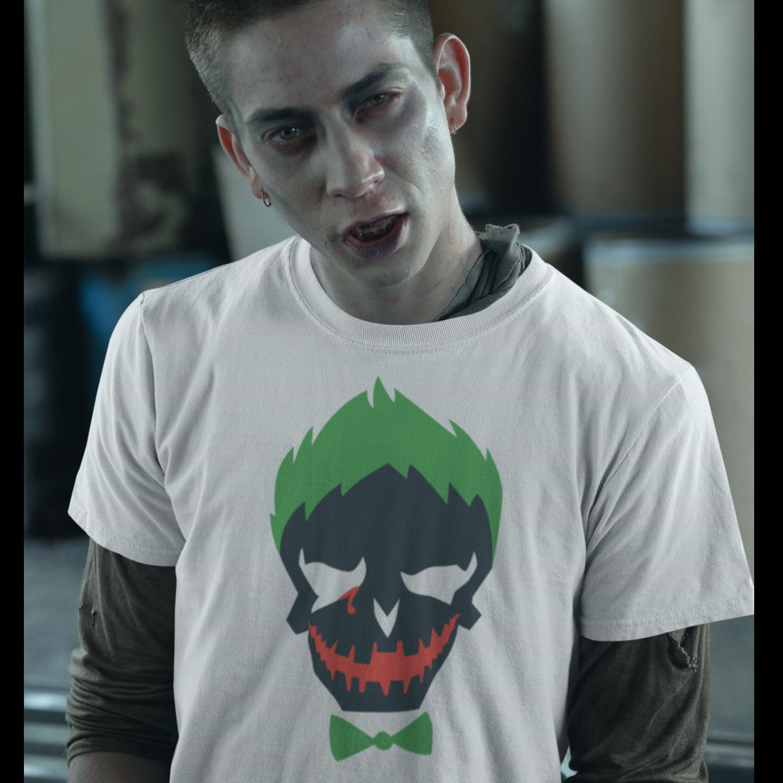Mens Joker Round Neck Tshirt